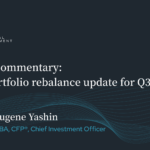 Market commentary video with news and updates for stock portfolio management and investors.