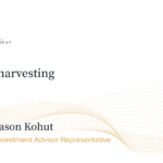 Tax loss harvesting, what you need to know for your own financial success.